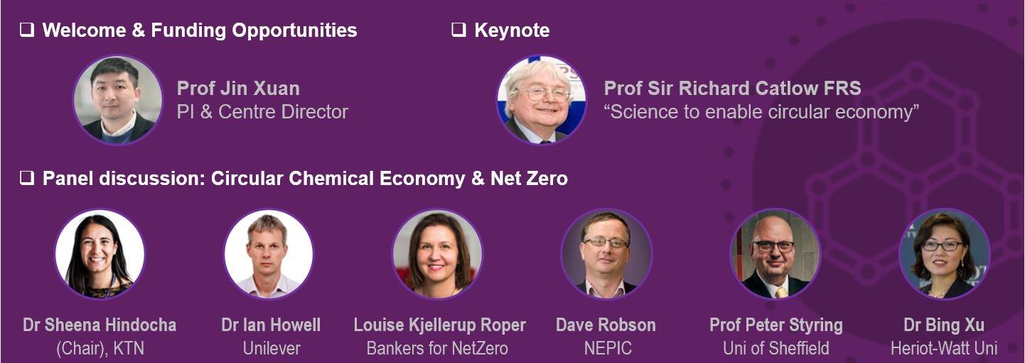 Interdisciplinary Centre for Circular Chemical Economy Launch Event