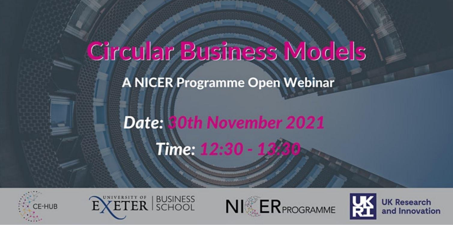 Open Webinar – Circular Business Models