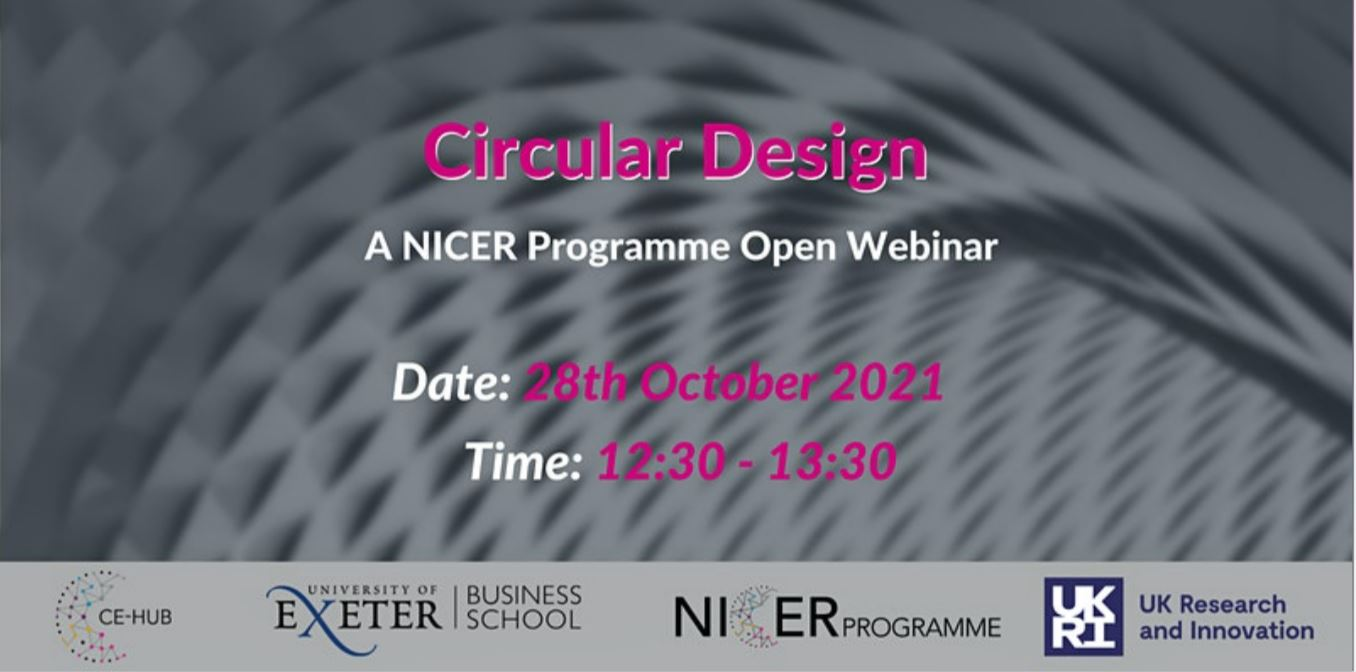 Open Webinar – Circular Design
