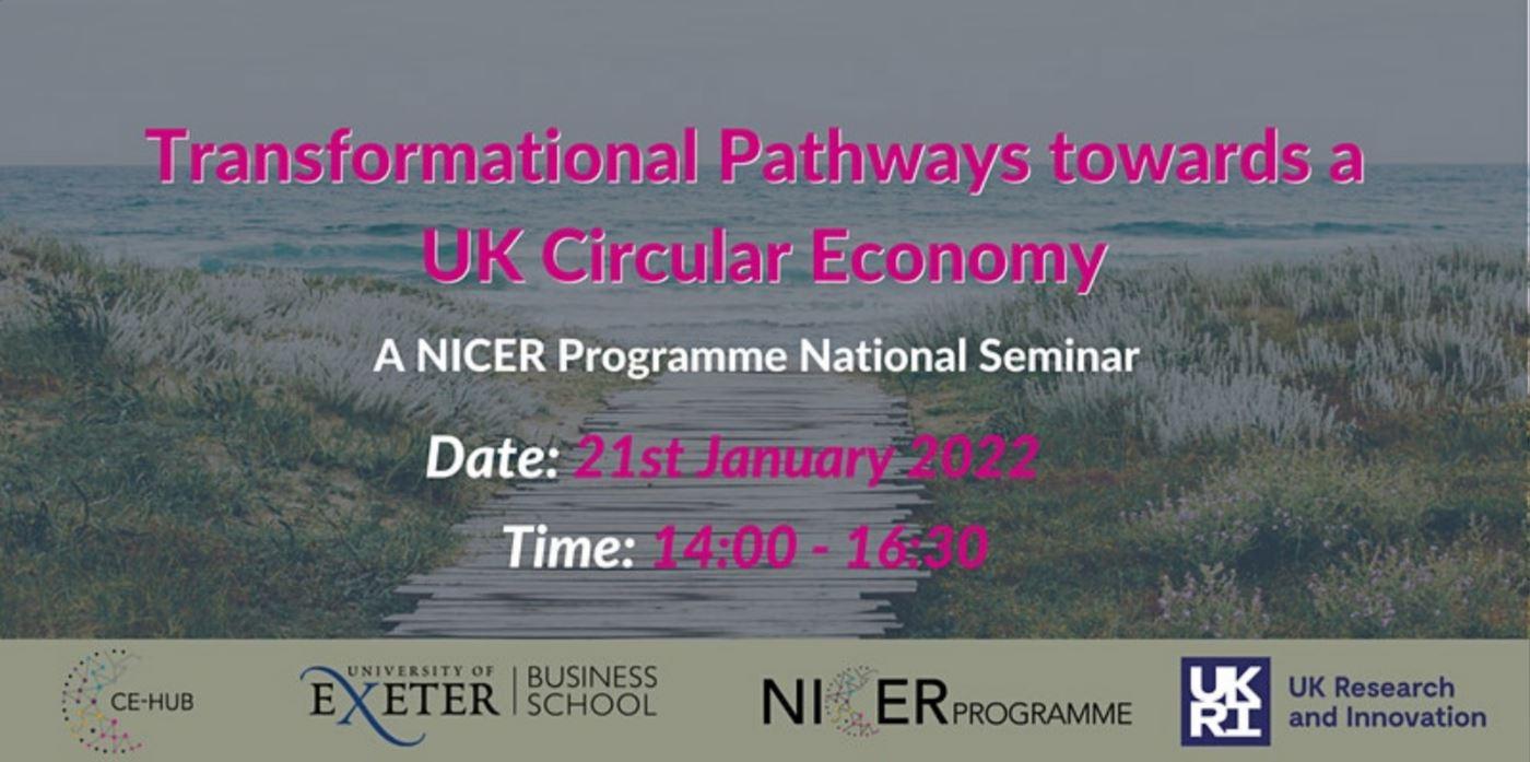 Transformational Pathways towards a UK CE